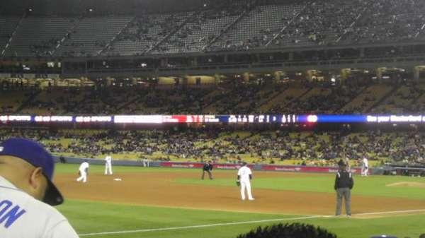 Dodger Stadium, secção: 37FD, fila: F , lugar: 2