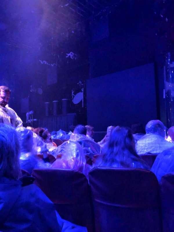 Briar Street Theater, secção: Right, fila: F, lugar: 206