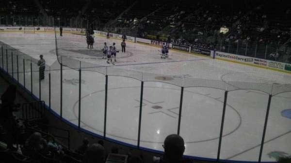 Hertz Arena, secção: 108, fila: 10, lugar: 5