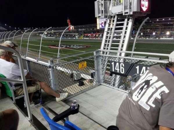 Daytona International Speedway, secção: 147, fila: 3, lugar: 22