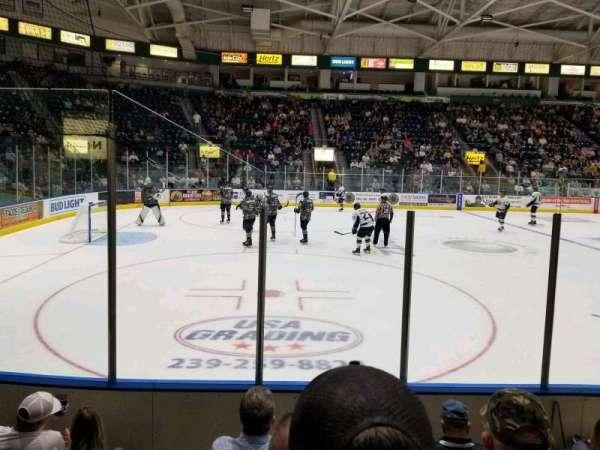 Hertz Arena, secção: 103, fila: 5, lugar: 12