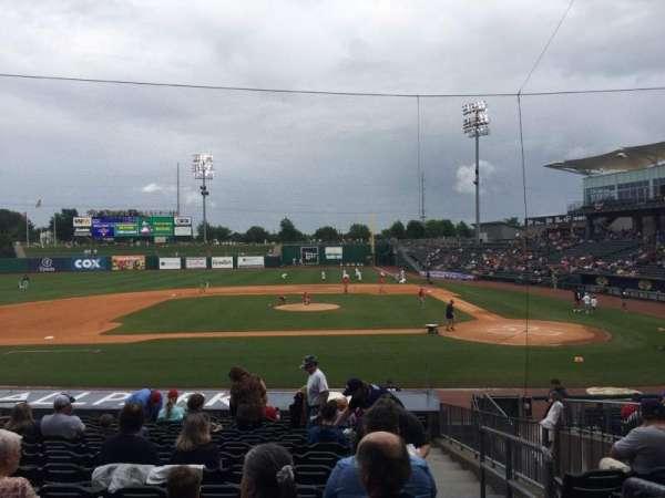 Arvest Ballpark, secção: 115, fila: S, lugar: 1