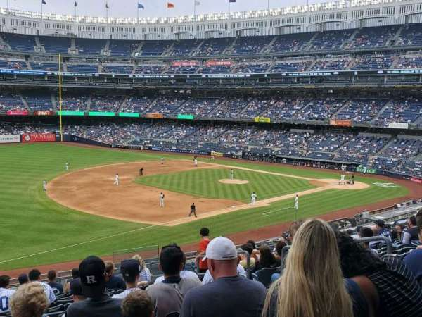 Yankee Stadium, secção: 228, fila: 13, lugar: 7