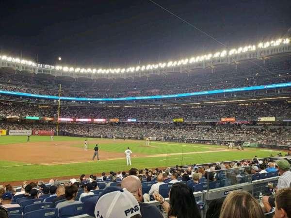 Yankee Stadium, secção: 127A, fila: 3, lugar: 6
