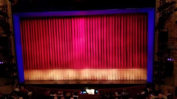 Longacre Theatre, secção: Mezzanine C, fila: A, lugar: 105
