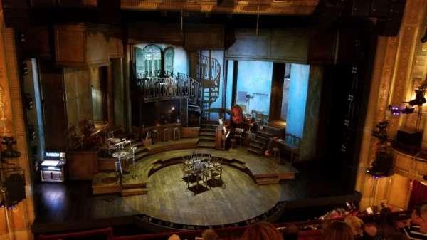 Walter Kerr Theatre, secção: Mezzanine C, fila: F, lugar: 114