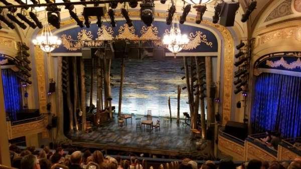 Gerald Schoenfeld Theatre, secção: Mezzanine R, fila: K, lugar: 4