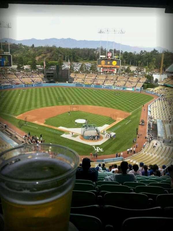Dodger Stadium, secção: 3rs, fila: V, lugar: 21