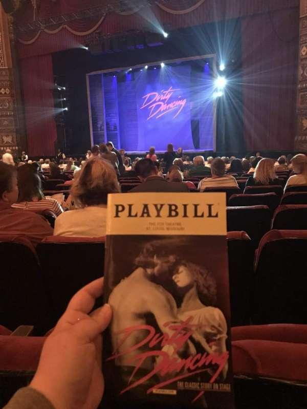 The Fabulous Fox Theatre (St. Louis), secção: Orchestra 5, fila: U, lugar: 18