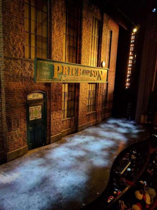 Al Hirschfeld Theatre, secção: Left Box, fila: B, lugar: 3