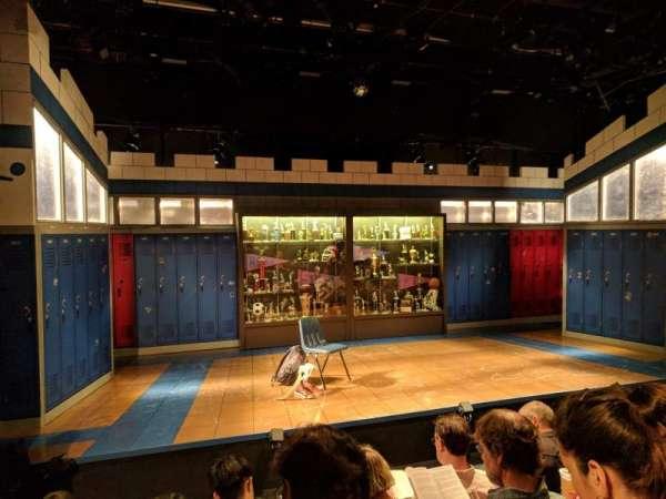 Shiva Theater at The Public Theater, fila: D, lugar: 14