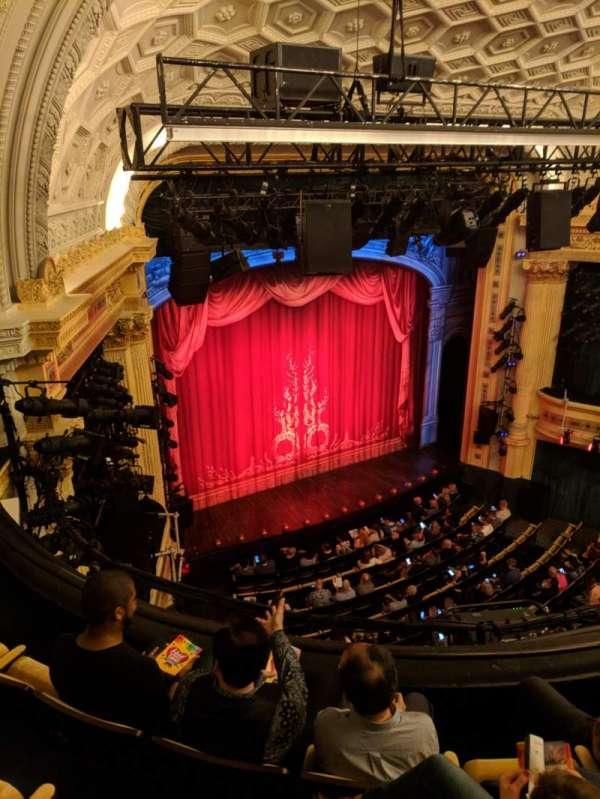 Hudson Theatre, secção: Balcony L, fila: D, lugar: 15