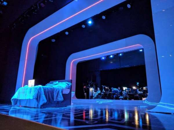 The Irene Diamond Stage at The Pershing Square Signature Center, secção: Orchestra, fila: A, lugar: 118