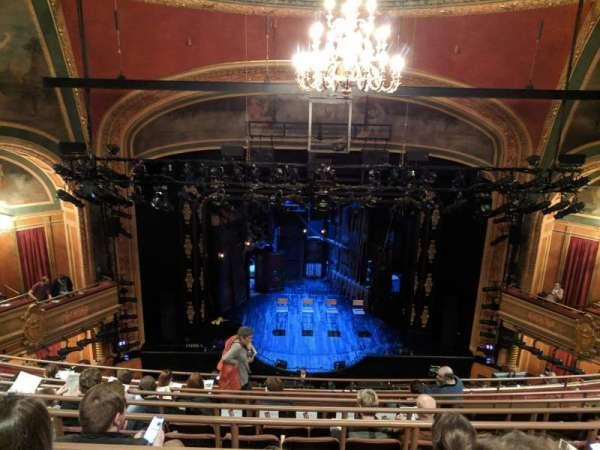 American Airlines Theatre, secção: Rear Mezzanine, fila: G, lugar: 118
