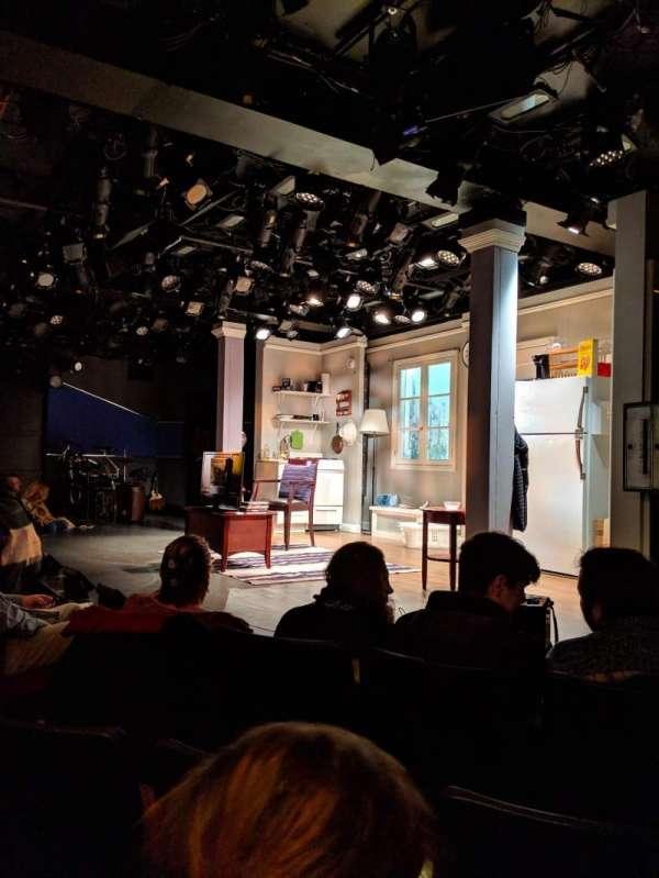 Westside Theatre, secção: ORCH, fila: C, lugar: 14
