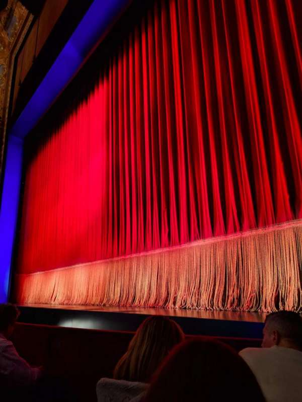Longacre Theatre, secção: ORCHO, fila: C, lugar: 5