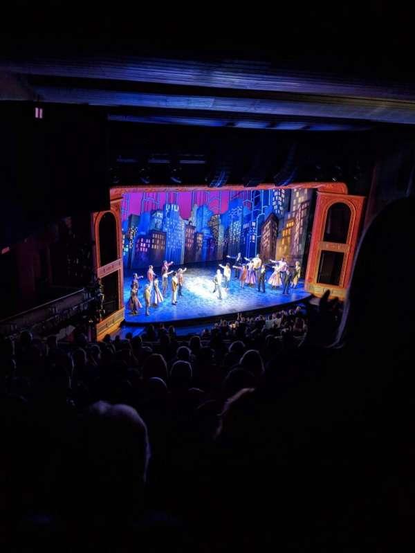 Marquis Theatre, secção: Mezzanine, fila: L, lugar: 19