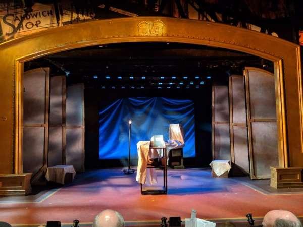 York Theatre, secção: Orchestra, fila: C, lugar: 7