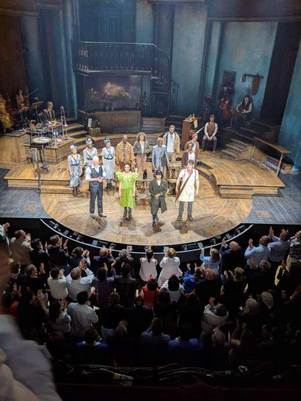Walter Kerr Theatre, secção: Mezzanine, fila: B, lugar: 108
