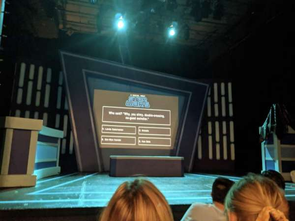 Kirk Theatre, secção: ORCH, fila: C, lugar: 8