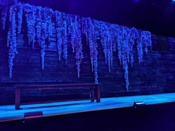 Daryl Roth Theatre, secção: Orchestra C, fila: A, lugar: 115
