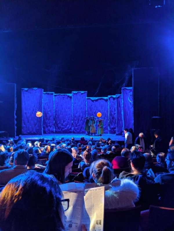Stephen Sondheim Theatre, secção: Orchestra C, fila: M, lugar: 105