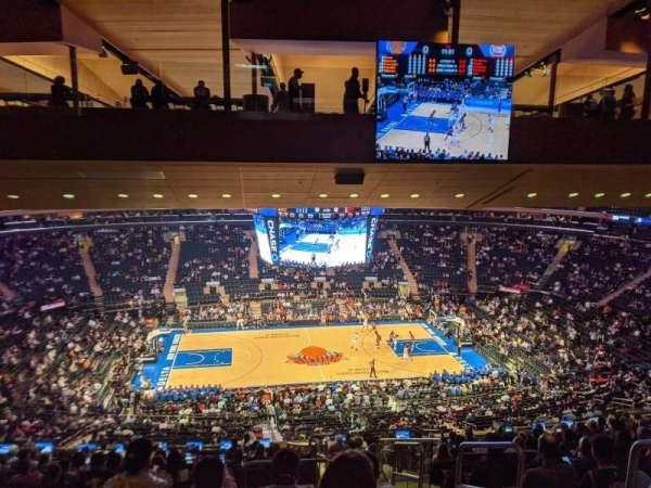 Madison Square Garden, secção: 210, fila: 16, lugar: 1