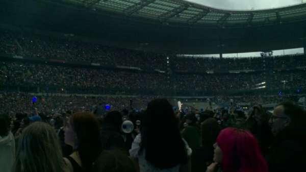 Stade de France, secção: P11, fila: 10, lugar: 12