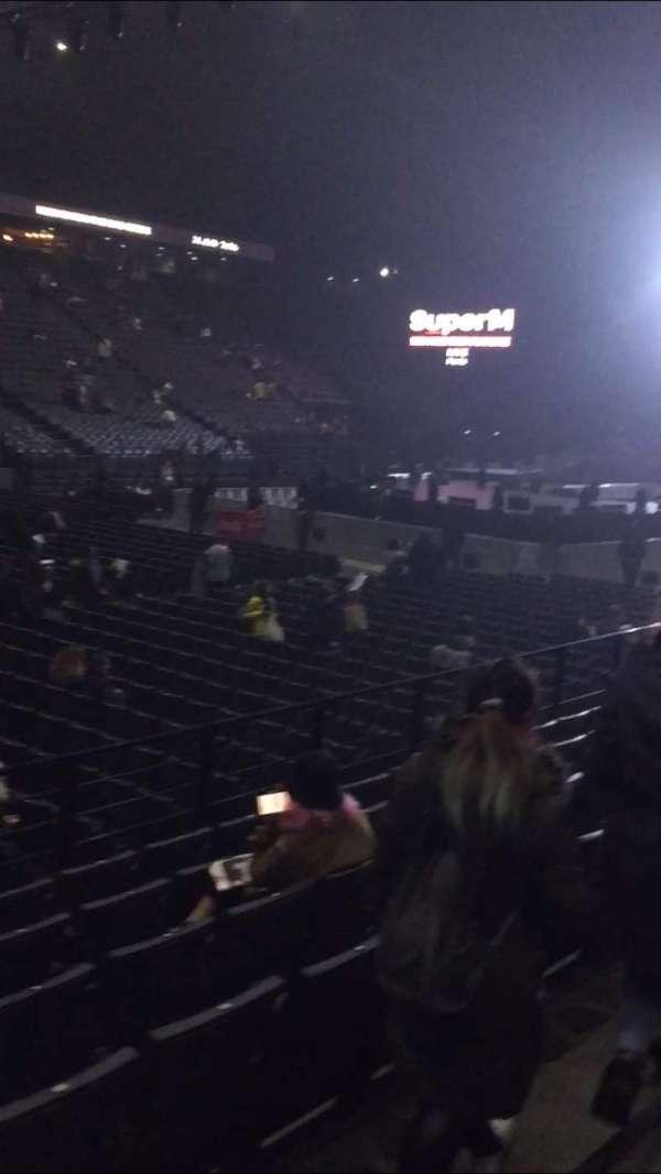 AccorHotels Arena, secção: D, fila: 22, lugar: 25