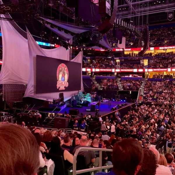 Amalie Arena, secção: 117, fila: U, lugar: 16