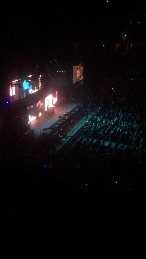 Manchester Arena, secção: 202, fila: G, lugar: 29