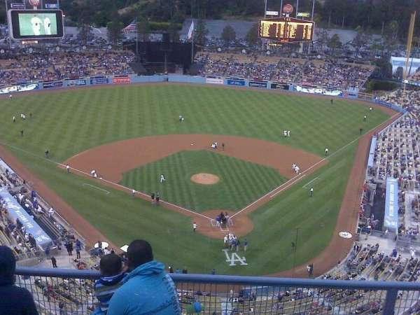 Dodger Stadium, secção: top deck