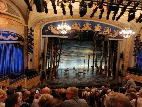 Gerald Schoenfeld Theatre, secção: Mezzanine L, fila: H, lugar: 3