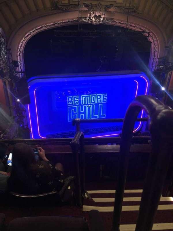 Lyceum Theatre (Broadway), secção: Balcony L, fila: C, lugar: 1
