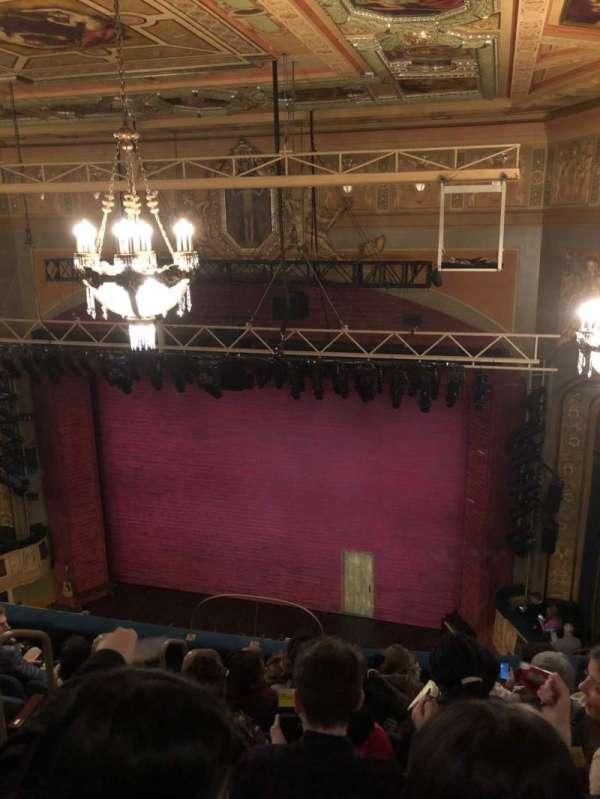 Shubert Theatre, secção: BalconyR, fila: G, lugar: 6