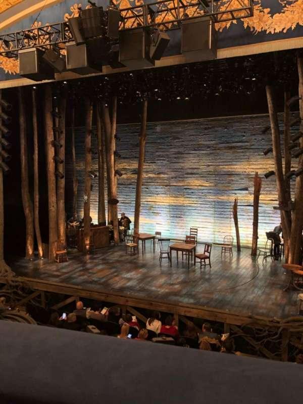 Gerald Schoenfeld Theatre, secção: Mezzanine R, fila: A, lugar: 2
