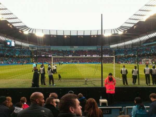 Etihad Stadium (Manchester), secção: 137, fila: G, lugar: 1025