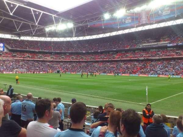 Wembley Stadium, secção: 140, fila: 8
