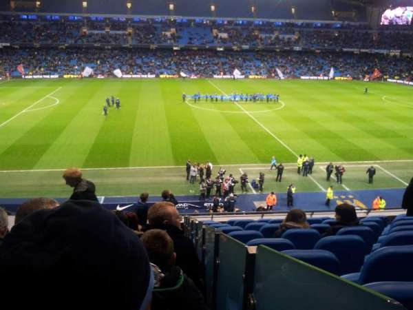 Etihad Stadium (Manchester), secção: 237, fila: K