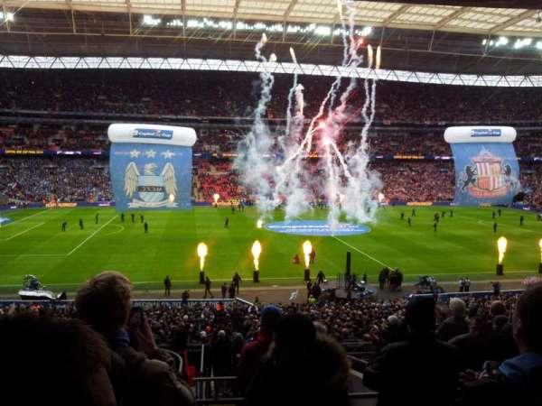 Wembley Stadium, secção: 124, fila: 42, lugar: 45