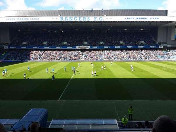 Ibrox Stadium, secção: Main Stand Front, fila: C