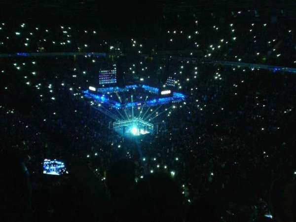 Manchester Arena, secção: 206, fila: k