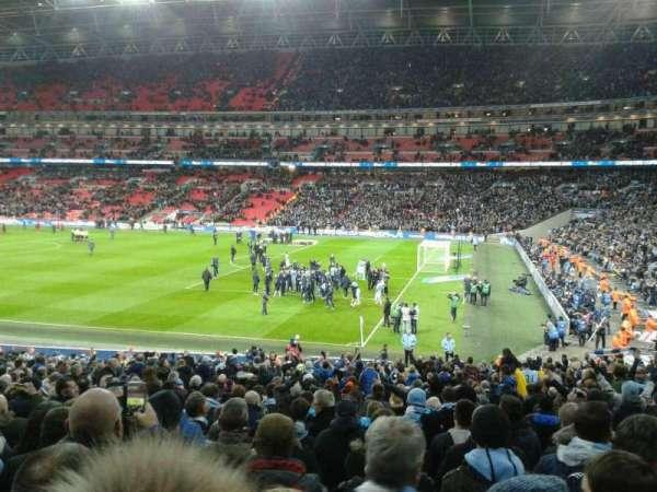 Wembley Stadium, secção: 118, fila: 30, lugar: 230