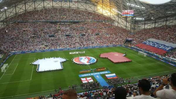 Stade Vélodrome, secção: T, fila: 62