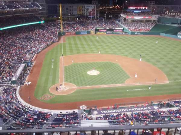 Nationals Park, secção: 317, fila: L