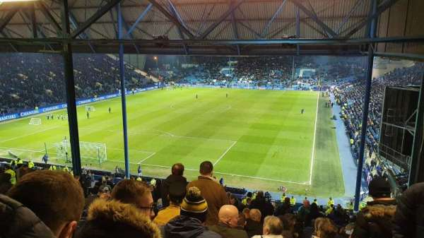 Hillsborough Stadium, secção: Leppings Lane, fila: 32, lugar: 142