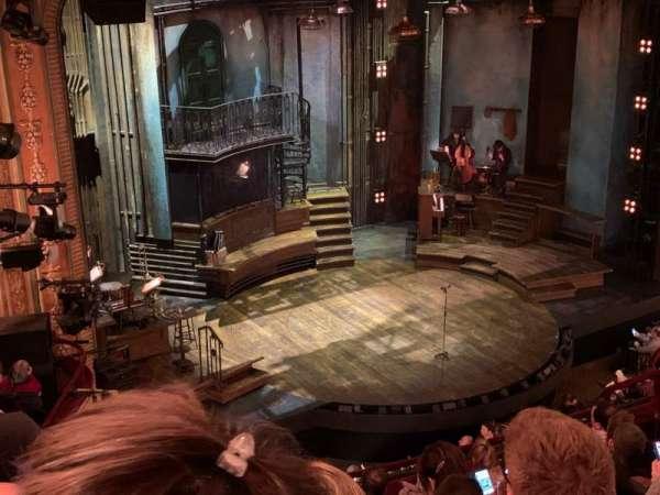 Walter Kerr Theatre, secção: Mezzanine L, fila: H, lugar: 21-23