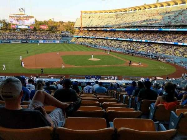 Dodger Stadium, secção: 133LG, fila: O, lugar: 2