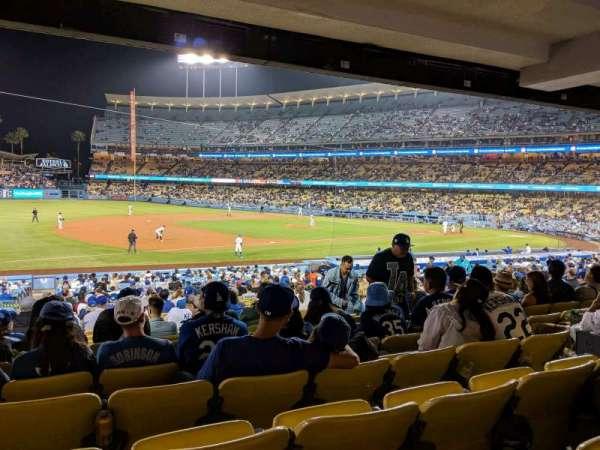 Dodger Stadium, secção: 31FD, fila: W, lugar: 7
