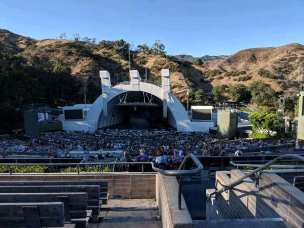 Hollywood Bowl, secção: M2, fila: 7, lugar: 101